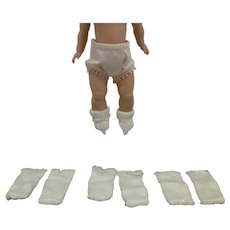 NEW! Old Store Stock - Four Pairs Doll Socks - for 8 inch dolls, Ginny