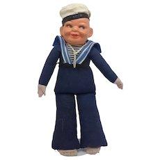 "1935-40s Norah Wellings 111 "" Holland America Sailor Compo Head"