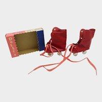 MIB Red Doll Skates for 21 inch Doll