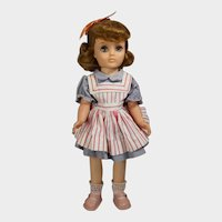 """Vintage 1950s Ideal 14"""" Harriet Hubbard Ayer Doll - All Orig!"""