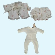 """Vintage Mme Alexander 8"""" Tagged Little Genius Doll Clothing!"""