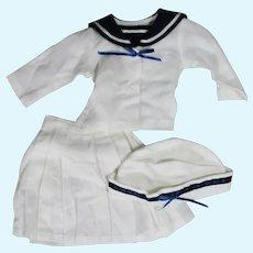 "Vintage 18""  Kestner Daisy Sailor Dress Outfit by Global"