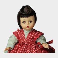 """Vintage 8"""" Doll 1966 Madame Alexander-kins JO Little Women - Bent Knee"""