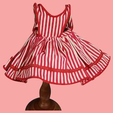 """1955 Mme Alexander-kins """"Wendy Helps Mummy"""" Doll Pinafore!"""