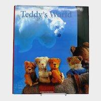 "Beautiful Antique Teddy Book ""Teddy's World"" by Mirja de Vries"