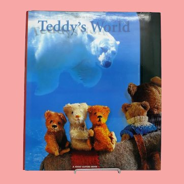 "Beautiful Antique Teddy Book ""Teddy's World"" by Mirja de Vries"