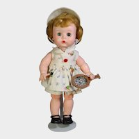 1950s Arranbee R&B Littlest Angel All Orig Doll in Tennis Outfit!