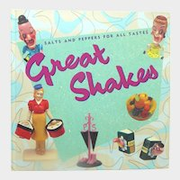 Great Shakes Book OOP: Collectible Salt and Pepper Shakers