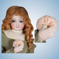 French Fashion Doll Pink Powder Puff!