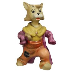 Hold for DavidGoebel Walt Disney Pinocchio GIDDY the Cat Figurine! HTF! Partner of Honest John!