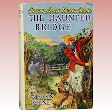 "Nancy Drew ""The Haunted Bridge"" Book w Dustjacket!"