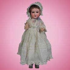 Antique German Bisque Baby Doll Trebor Marked 22