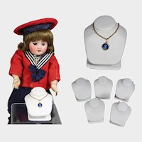 5 Mini Doll Sized Displays for Doll Jewelry!