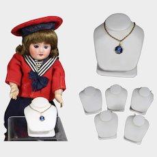 5 Mini Doll Sized Displays for Doll Jewelry!