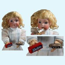 Vintage Doll Sized Harmonica in Orig Box!