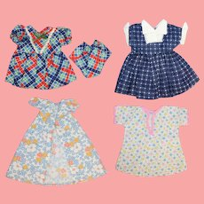 Darling Factory 1940s-50s Doll Clothes Dresses Etc!