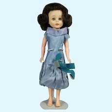 """1950s Vintage 10.5"""" American Character Toni Sweet Sue Sophisticate Doll in """"Dinner Date"""""""