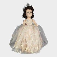 Rare! 1950s Arranbee R&B Princess Juliana Queen Ball Walker Doll!
