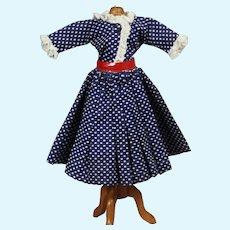 "Vintage Tagged 2 Pc Dress for 10.5"" Miss Nancy Ann Teen Doll!"