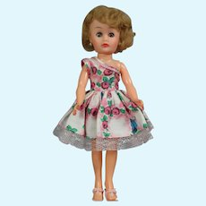 "Vintage 50s Circle P Teen Fashion 10.5"" Doll Revlon Type!"