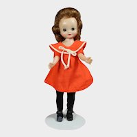 """Vintage American Character 8"""" Betsy McCall Doll in """"At The Zoo"""""""