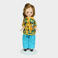 """Vintage American Character 8"""" Betsy McCall Doll in """"Sweet Dreams"""""""
