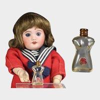 Vintage Tiny Schiaparelli Doll Sized Perfume Torso Shape!