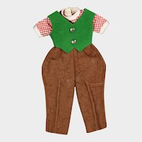 """Vintage 1950s Betsy McCall Doll """"Pony Pals"""" Outfit"""