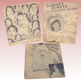 Three 1936 Shirley Temple Books
