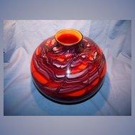 Large Kralik Ball Vase