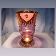 Bohemian Vase with Gold Trim & Jewels