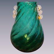 Mid Century Barovier Murano Vase