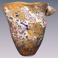 Modern Art Glass Lily Vase by Sweet