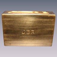 Sterling Matchbox