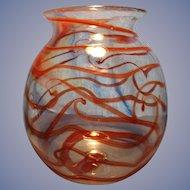 Lee Hudin 1973 Signed Vase