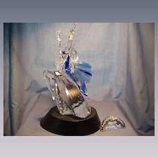 "Swarovski ""Magic of Dance""  Isadora with Stage and Plaque"