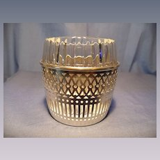 Baccarat and Webster Vintage Cigarette Urn