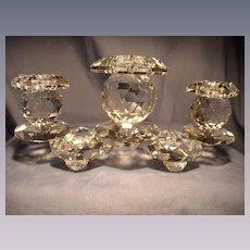Swarovski 5 Diamond Triple Candelara
