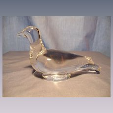 Baccarat Turtledove MIB