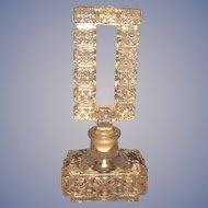 Vintage Czech Perfume Bottle w/ Open Stopper