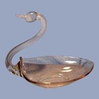 Ten Inch Duncan Swan Bowl