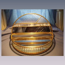 15 Inch Semi Circular Glass Box