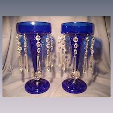 Pair of Pairpoint Luster Vases