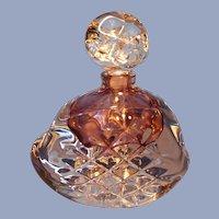 Judith C Via Art Glass Perfume Bottle