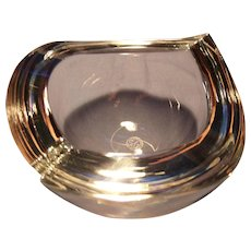 Contoured Baccarat Bowl