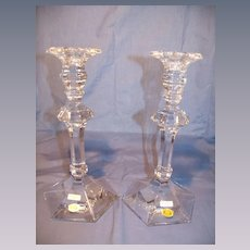 "Vas Saint Lambert ""Bonaparte"" Candlesticks"