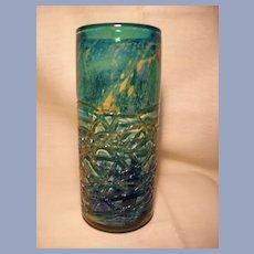 Mid Century Mdina  Cylinder Vase