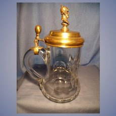 Antique Military Beer Stein