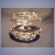 Swarovski Oyster With Pearl