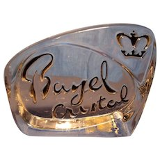 Bayel Cristal Dealer Store Sign